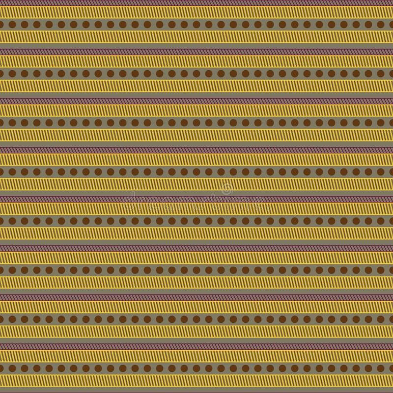 Koszulowej mężczyzna pionowo tkaniny bezszwowy wzór ilustracji