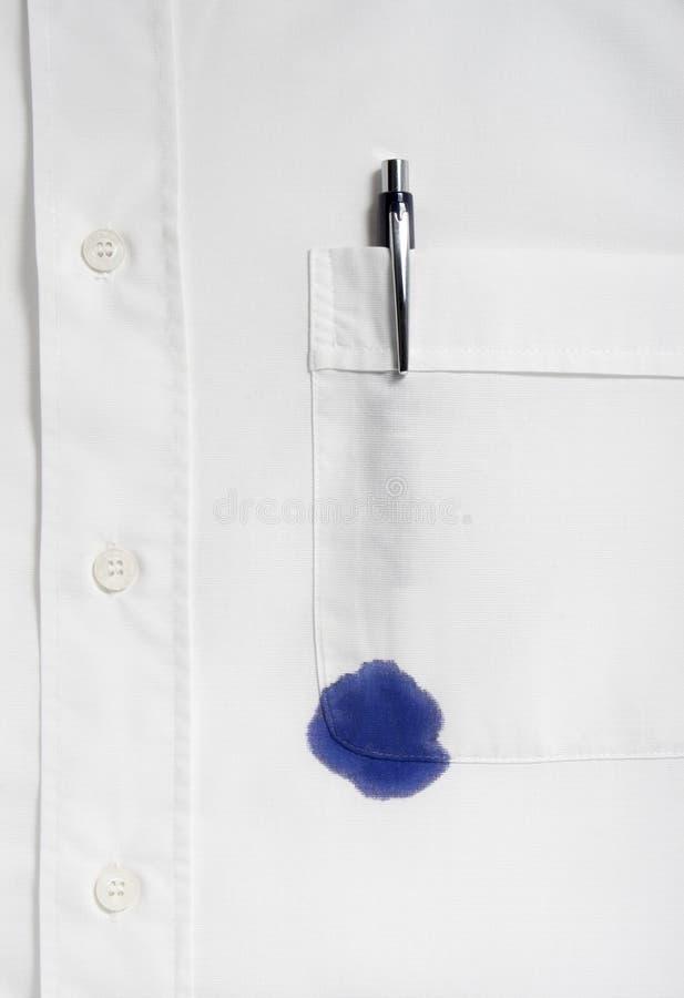 koszulowy biel zdjęcie royalty free