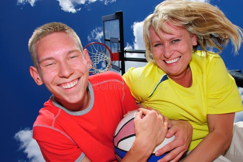koszykówek lekcje zdjęcia royalty free