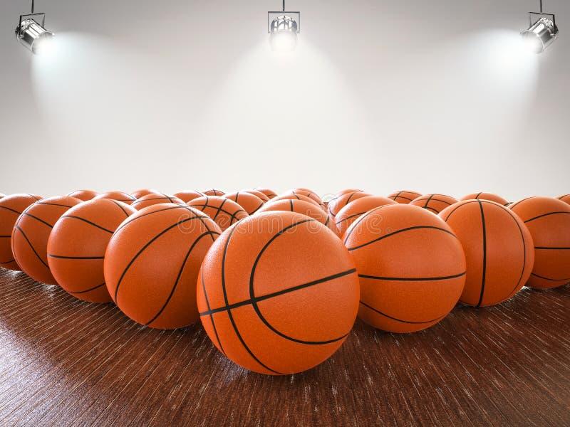 Koszykówek piłki obraz stock