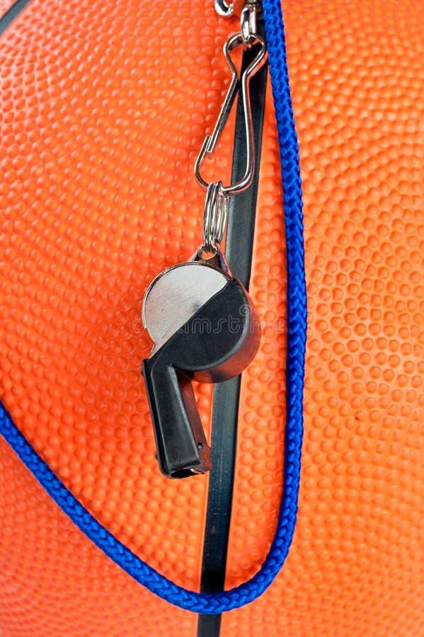 koszykówka gwizd zdjęcie royalty free