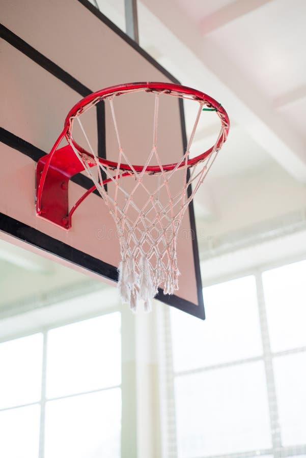 Koszykówka kosz obraz royalty free