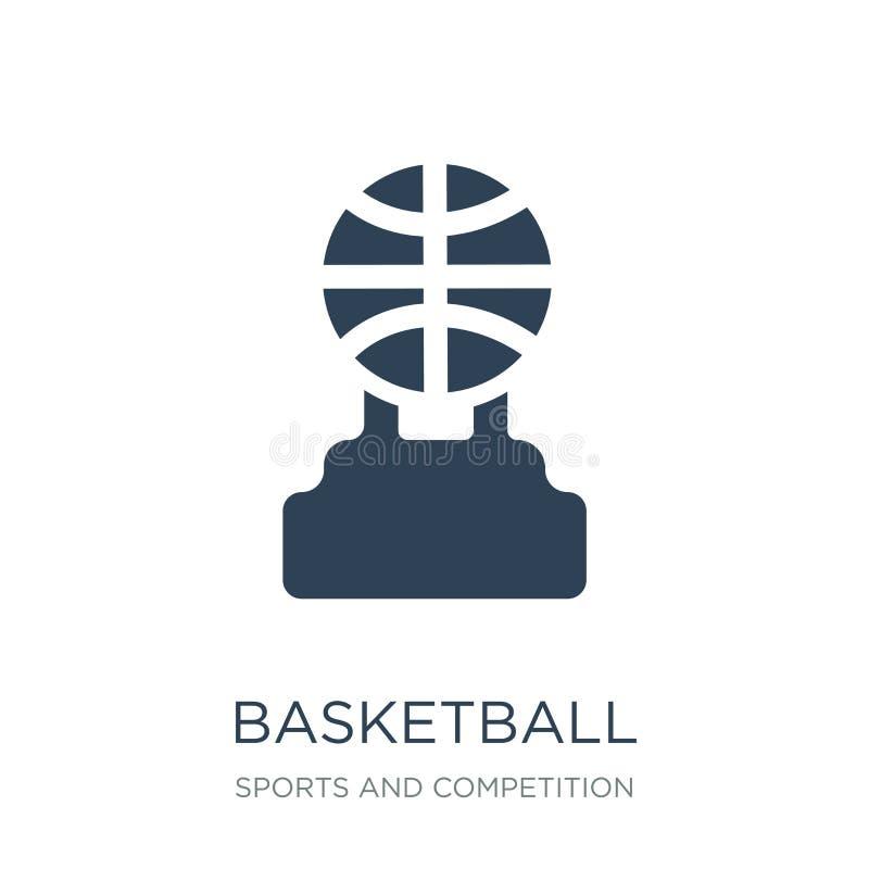 koszykówka mistrza ikona w modnym projekta stylu koszykówka mistrza ikona odizolowywająca na białym tle koszykówka mistrza wektor ilustracji