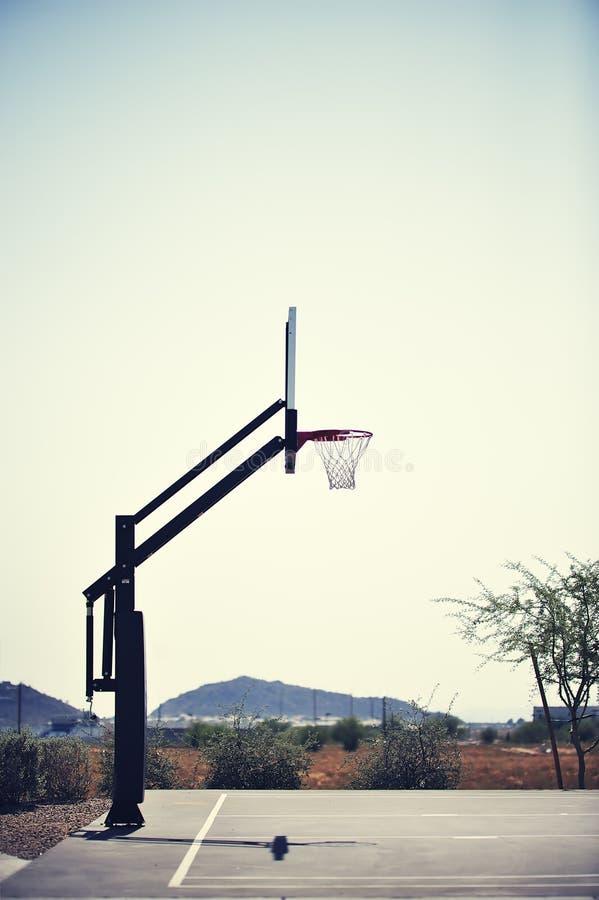 koszykówka obręcz obraz royalty free