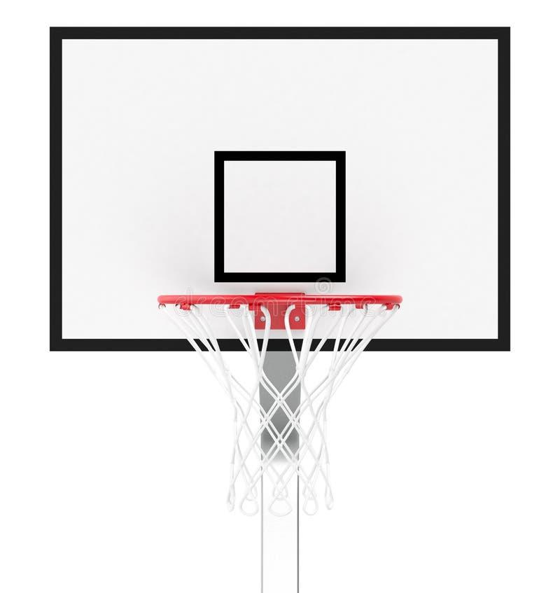 Koszykówka obręcz ilustracja wektor