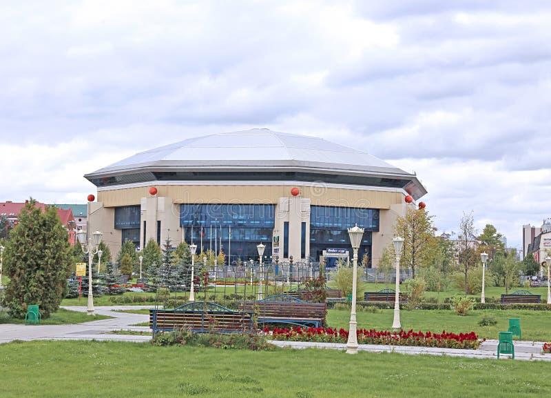 Koszykówka pałac w Kazan zdjęcia royalty free