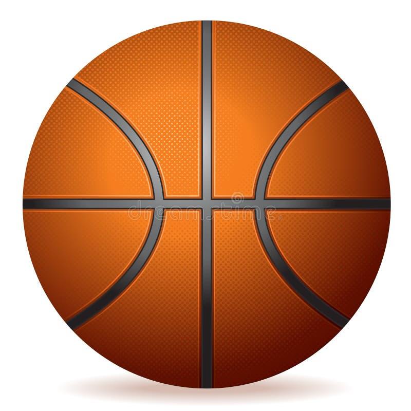 koszykówka realistyczna royalty ilustracja