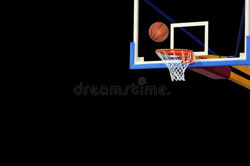 Koszykówka set fotografia royalty free