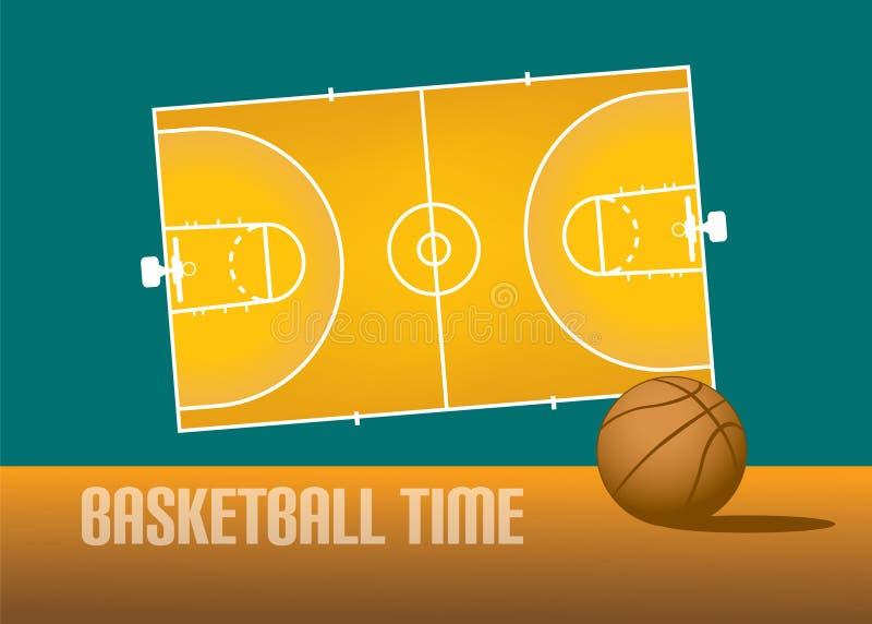 Koszykówka temat ilustracja wektor