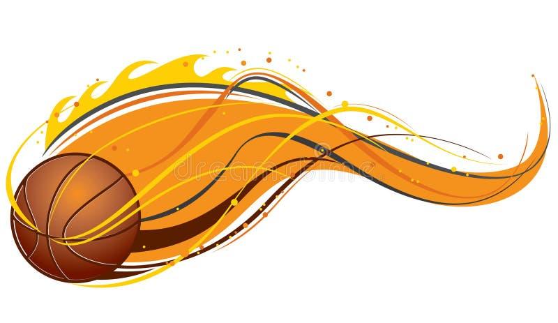 Koszykówka wzór ilustracja wektor