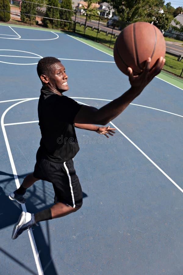 Koszykówki Layup obrazy royalty free