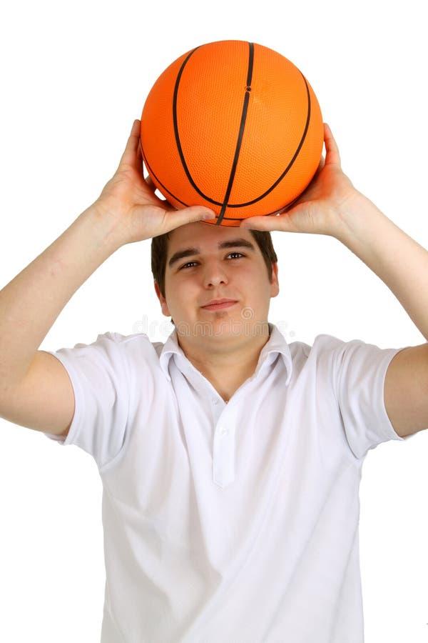 koszykówki mężczyzna potomstwa zdjęcie royalty free