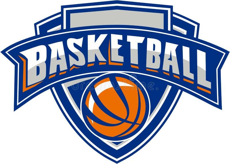 Koszykówki osłony Balowy tekst Retro ilustracji