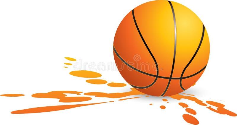 koszykówki splat ilustracji