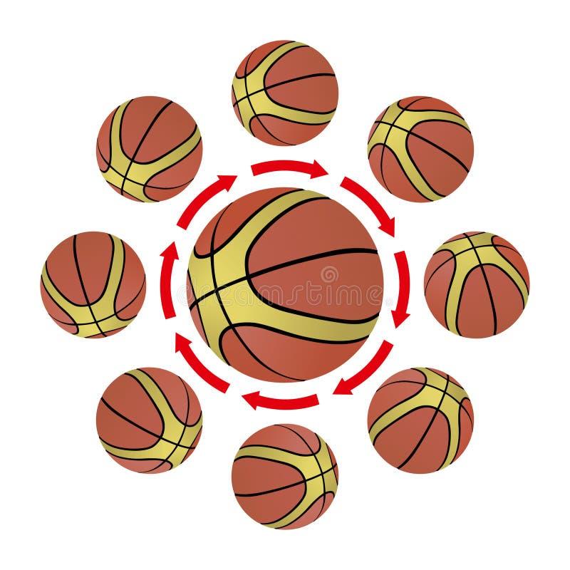 koszykówki strategia ilustracja wektor