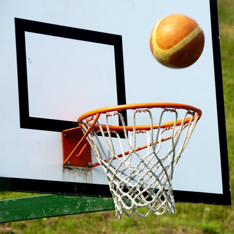 koszykówki strzału wygranie obraz royalty free