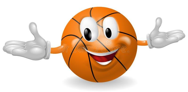 Koszykowy Balowy mężczyzna ilustracja wektor