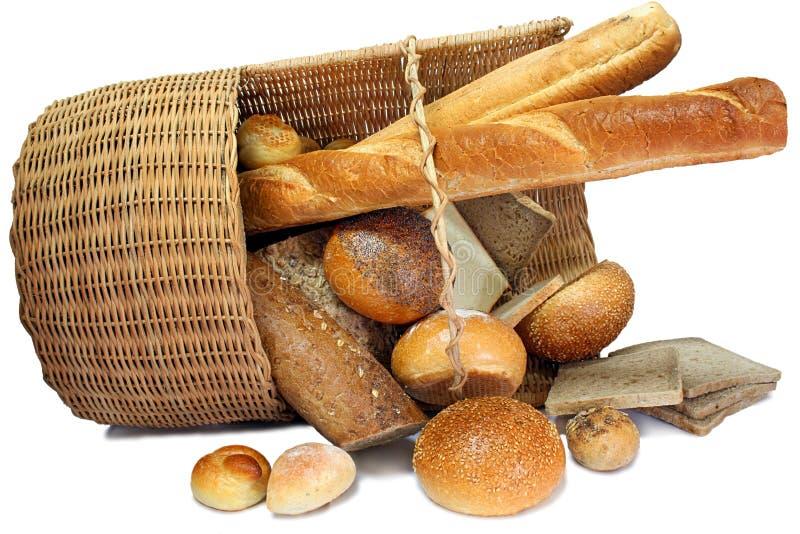 koszykowy chleb. zdjęcia royalty free