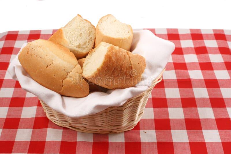koszykowy chleb. fotografia stock