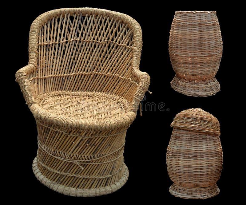 Koszykowy krzesło zdjęcia stock