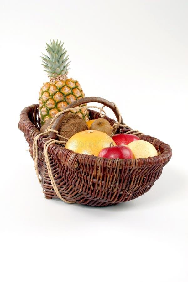 koszykowy tropikalny owocowy obrazy royalty free