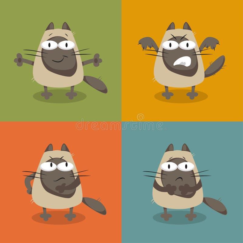 kotów inkasowy ilustraci wektor ilustracja wektor