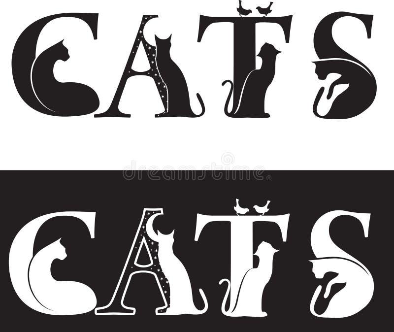 kotów listy obraz royalty free