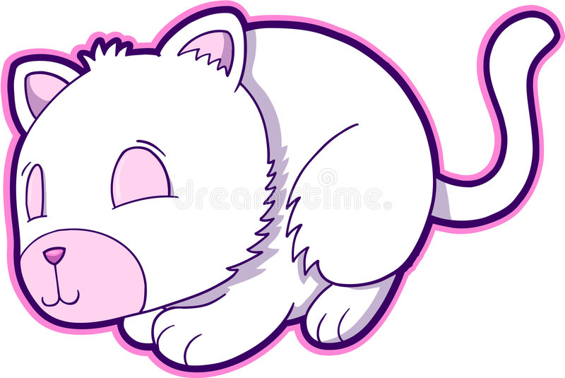 kot ilustracji wektora ilustracji