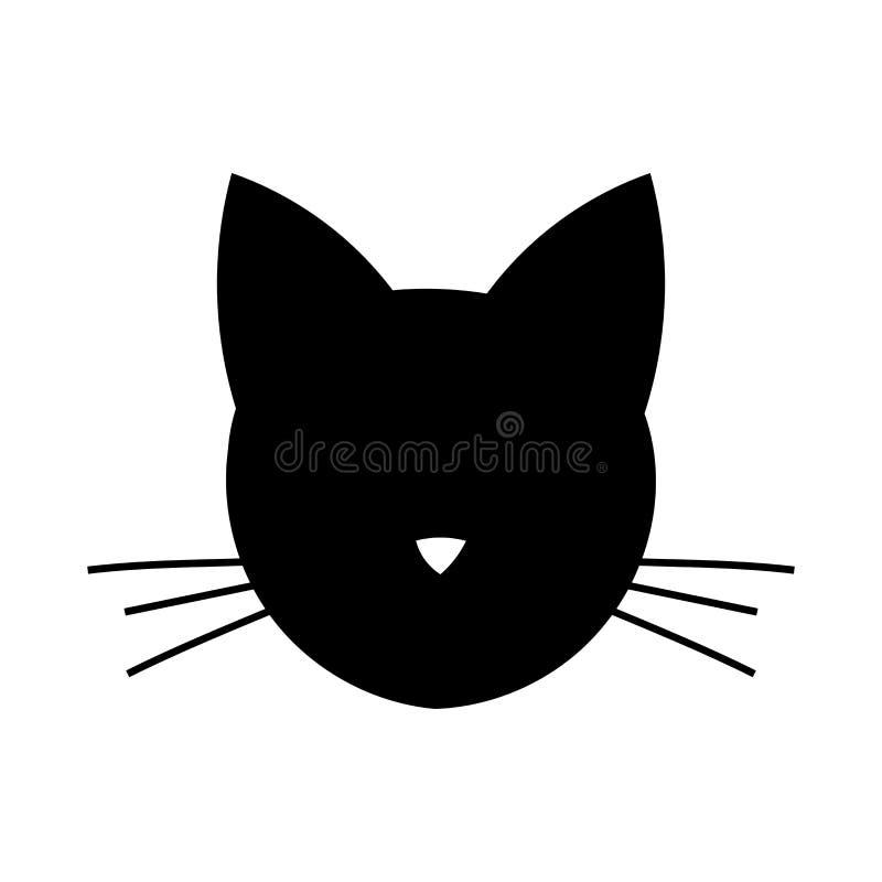 Kot Kierownicza ikona ilustracja wektor