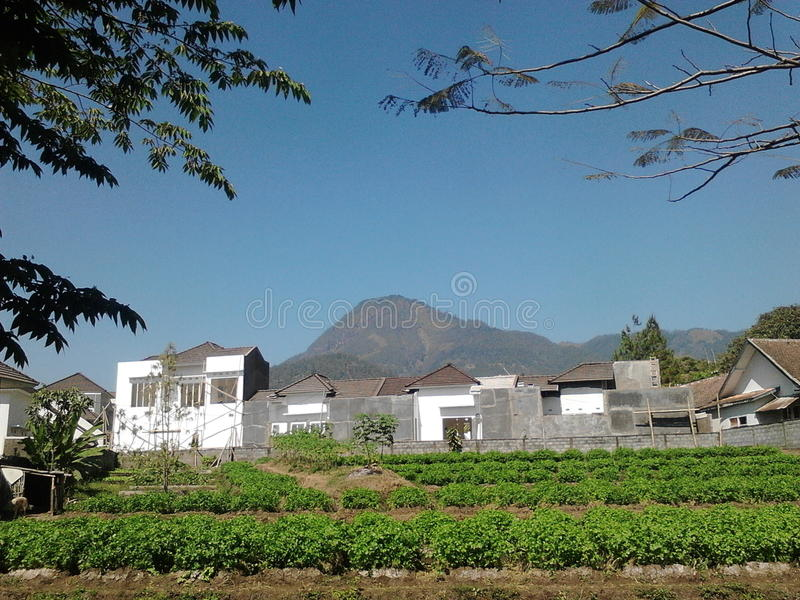 Kota Batu, Malang, mooi Indonesië royalty-vrije stock foto's
