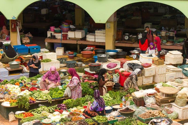 Kota Bharu Central Market, Malaisie photos stock