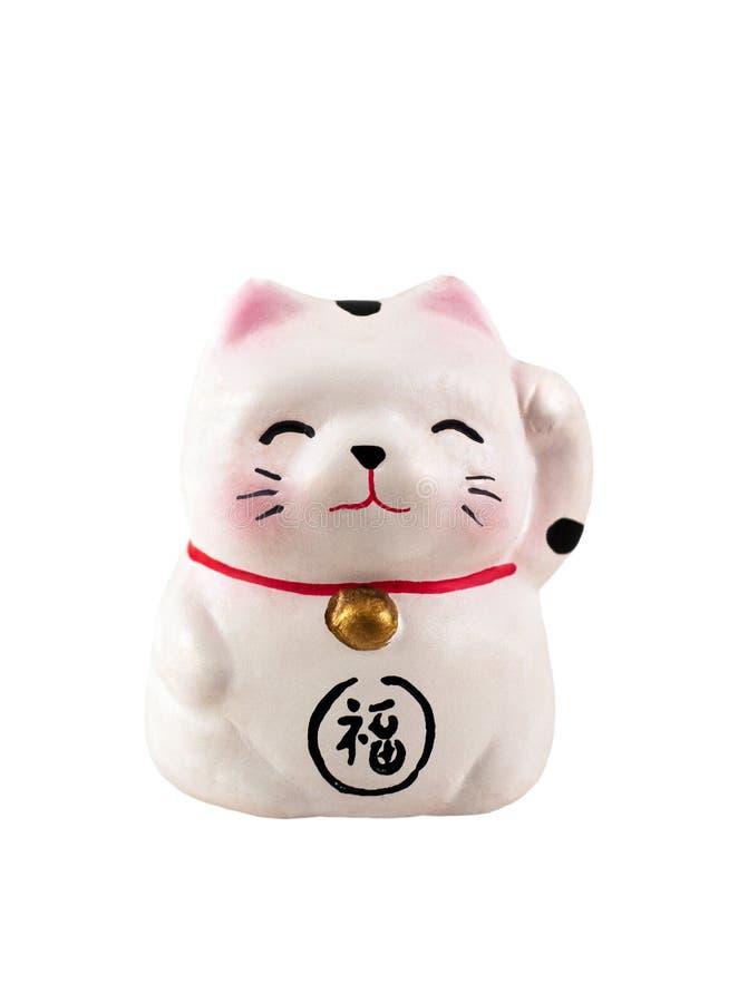 kota japończyka maneki obrazy stock