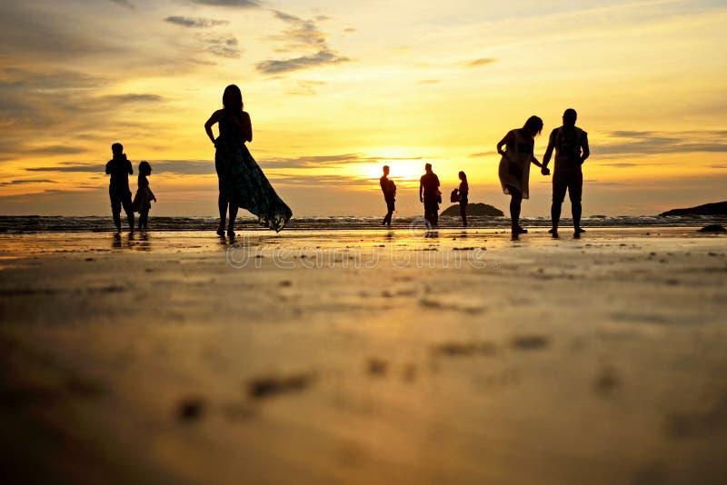 Kota Kinabalu Beach photographie stock libre de droits