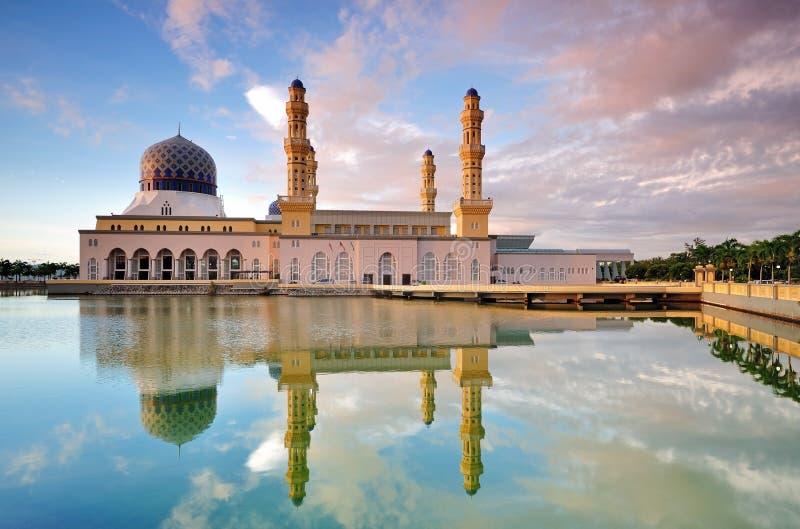 Kota Kinabalu City Mosque lizenzfreie stockfotografie