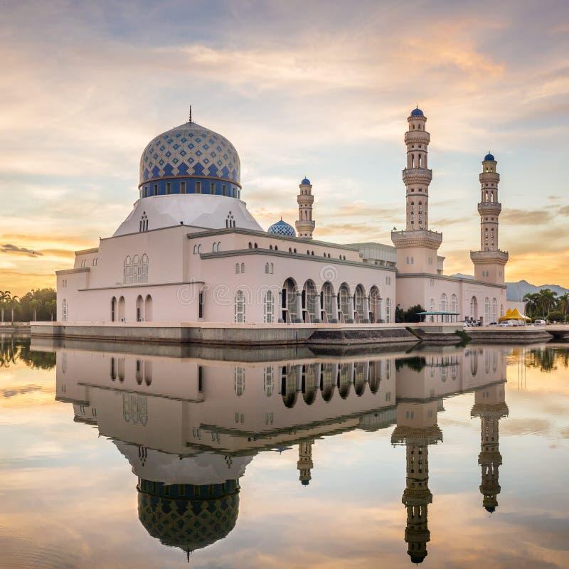 Kota Kinabalu City Mosque en Kota Kinabalu photos libres de droits