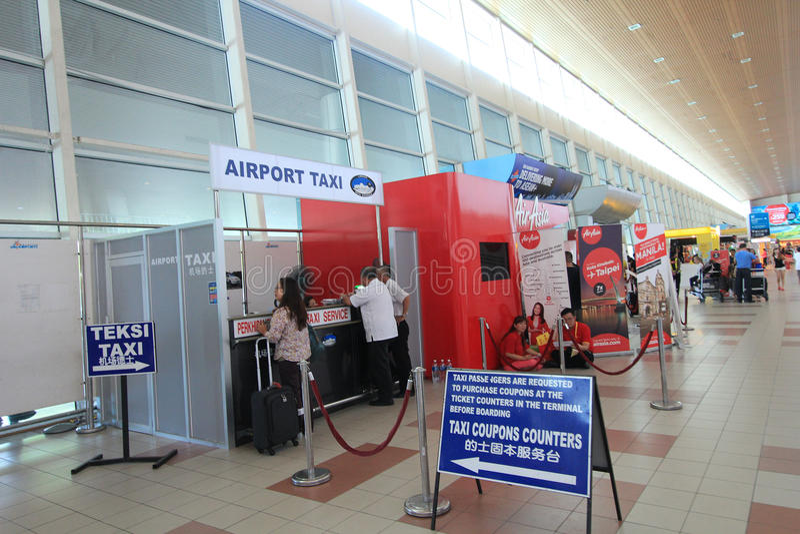 Kota Kinabalu International Airport stockfoto