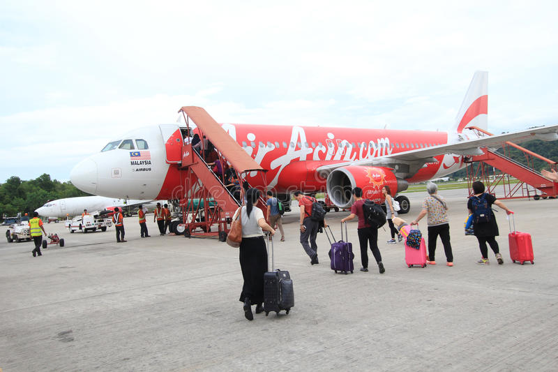 Kota Kinabalu International Airport photo libre de droits