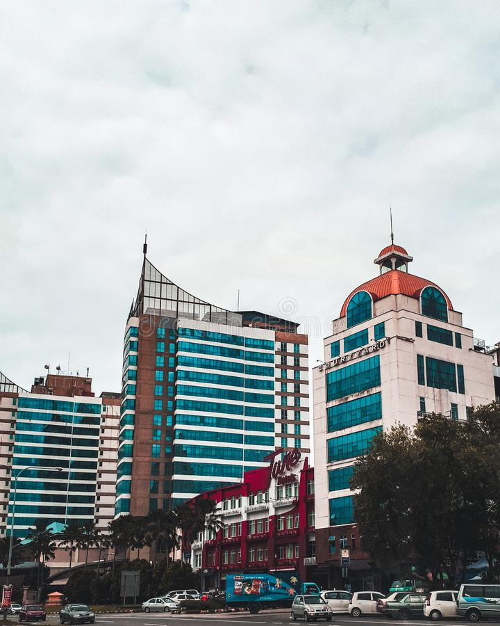 Kota Kinabalu, Malaisie image stock
