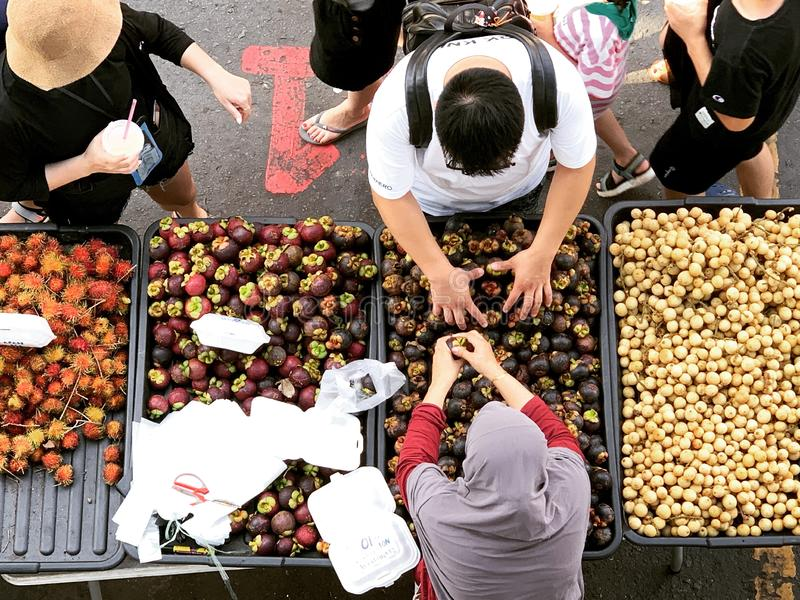 Kota Kinabalu Market photo libre de droits