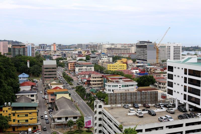 Kota Kinabalu, Sabah, Malaysia stockfotos