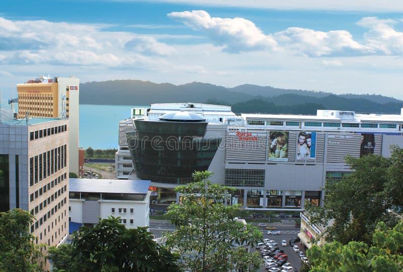 Kota Kinabalu stad arkivbilder