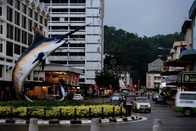 Kota Kinabalu Streets stock photography