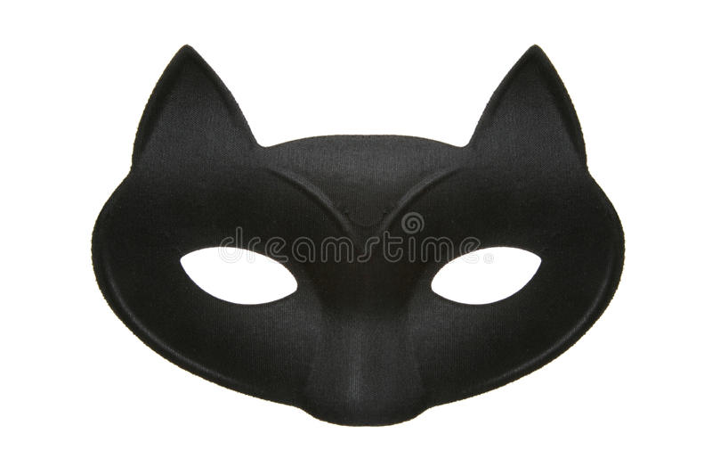 kota maski maskarada zdjęcie royalty free