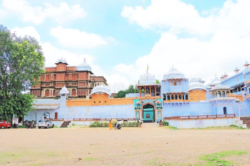 Kota palace and grounds india. Ancient palace and fort kota india stock photography