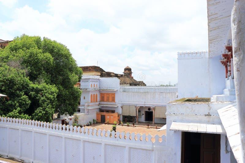 Kota palace and grounds india. Ancient palace and fort kota stock photography