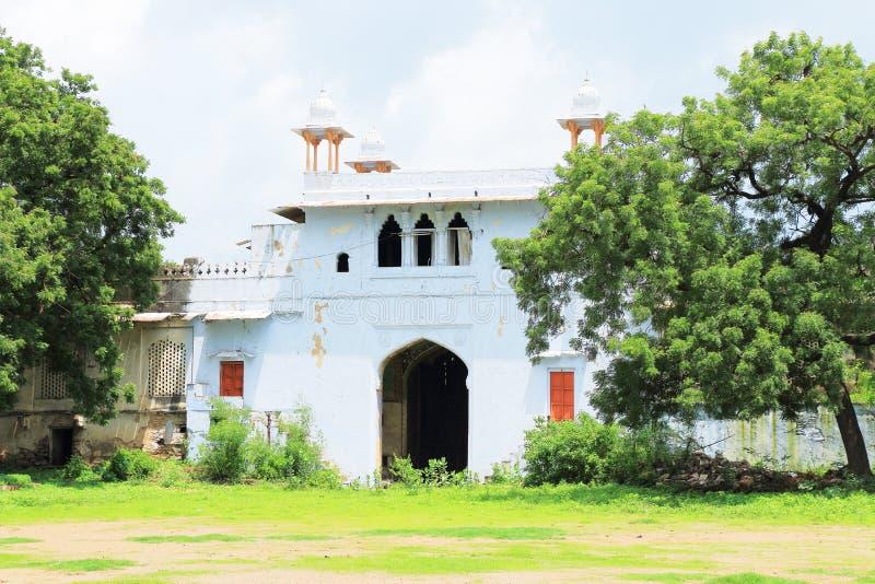 Kota palace and grounds india. Ancient palace and fort kota royalty free stock image