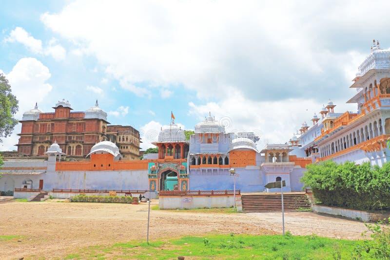 Kota palace and grounds india. Ancient palace and fort kota royalty free stock photos