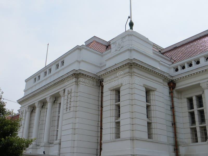 Kota Tua Jakarta Batavia gammal stad royaltyfri fotografi