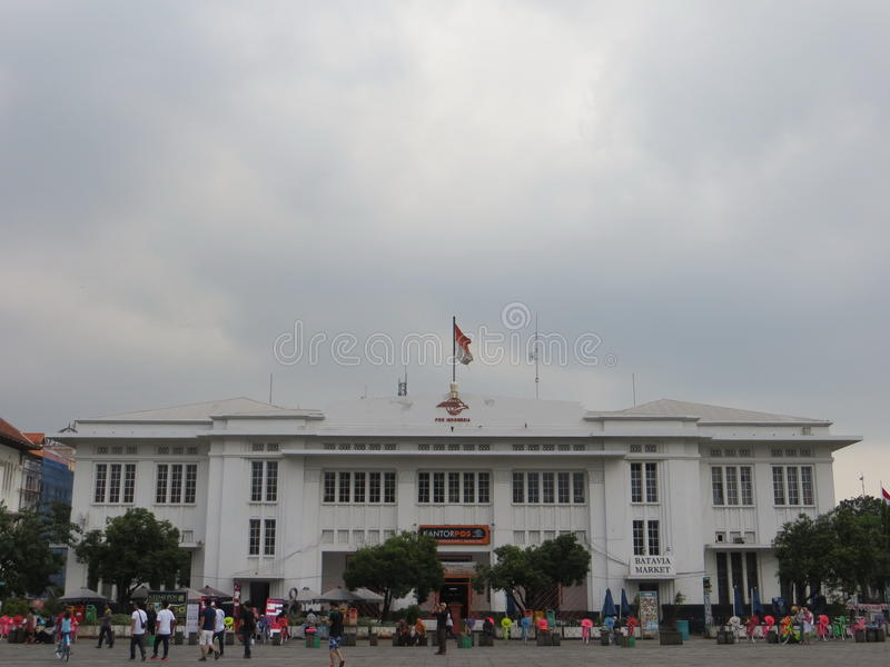 Kota Tua, Jakarta Ciudad vieja de Batavia imágenes de archivo libres de regalías