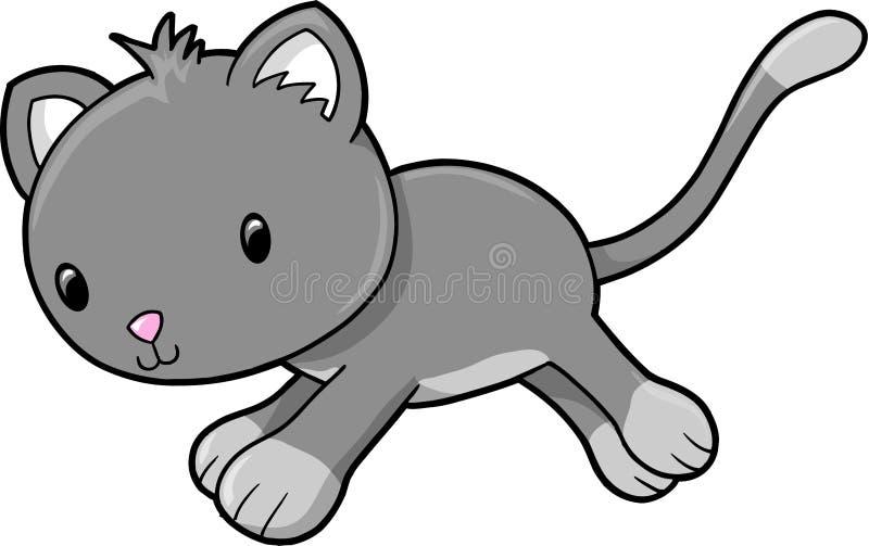 kota wektor ilustracyjny ładny royalty ilustracja